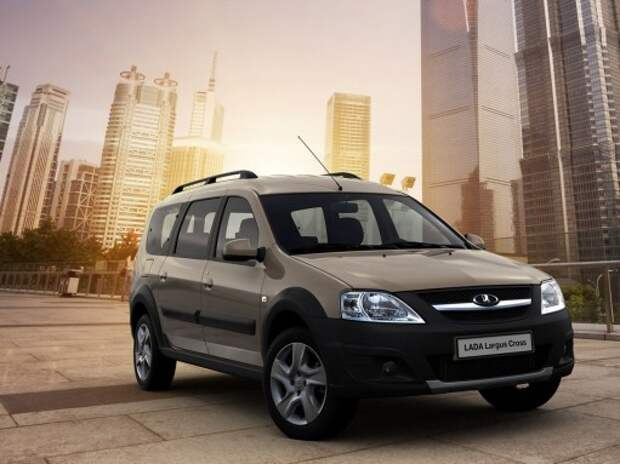 Дилеры Lada начали продажи Largus Cross по цене от 553 тыс. рублей