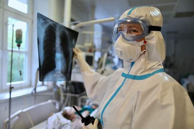 В России выявили 8 632 новых случая COVID-19