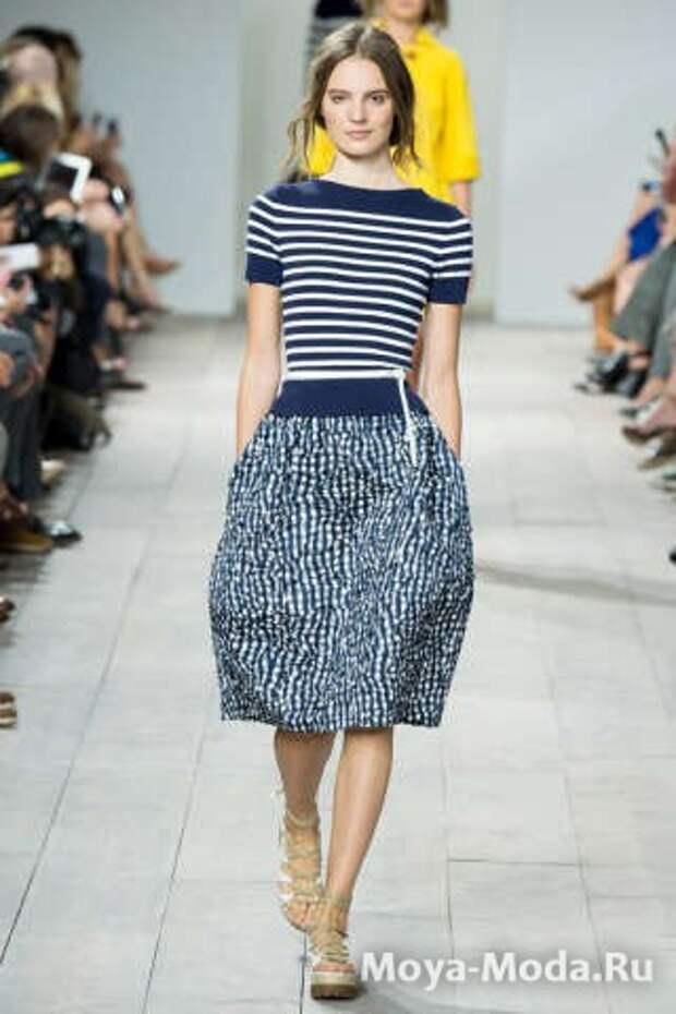Модная юбка весна-лето 2015 Michael Kors