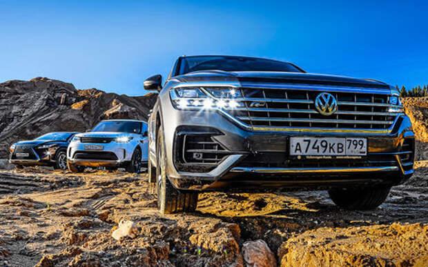 Кого порвал новый VW Touareg? Большой тест-драйв в песчаном карьере
