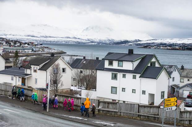 Тромсё - самый северный город Норвегии