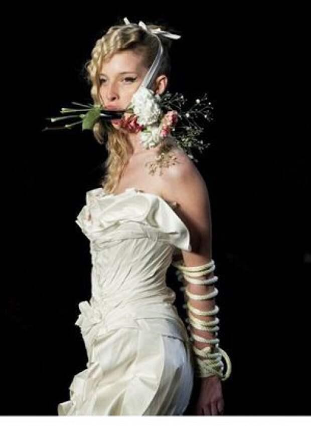 Мода, это не всегда модно или красиво мода, модели, подиум, странное