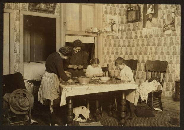 Типичная американская семья. США, Нью-Йорк, Гудзон-Стрит 143.