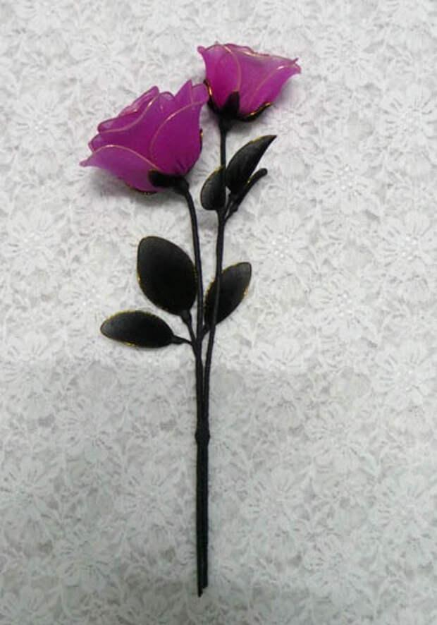 Розы из капрона. Красивые идеи и мастер-класс (54) (379x542, 131Kb)