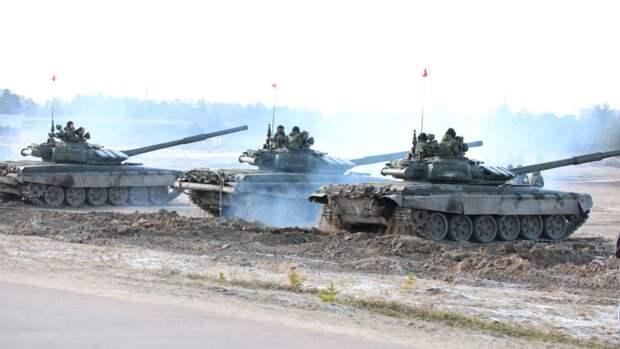 Танкисты Балтфлота отработали тактические стрельбы на учениях в Калининградской области