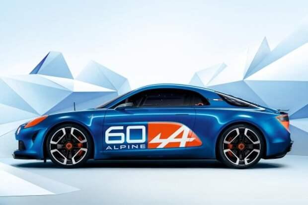 В Ле-Мане представлен спорткар Renault Alpine