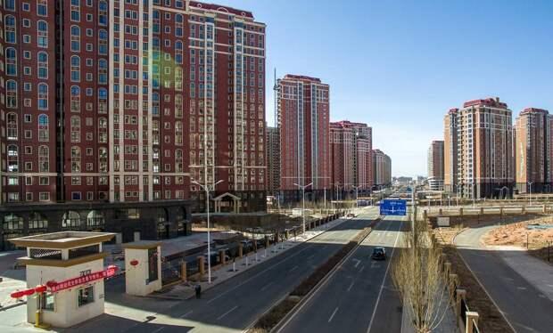 Китайская урбанистическая утопия оказалась почти пустой. /Фото: yaplakal.com