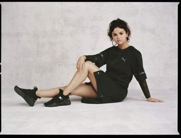 Селена Гомес (Selena Gomez) в фотосессии для коллекции SG x Puma Strong Girl (2018)