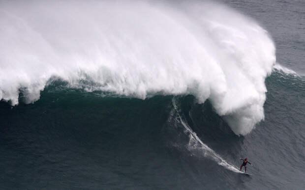 Гигантские волны, которые смогли оседлать лучшие серферы