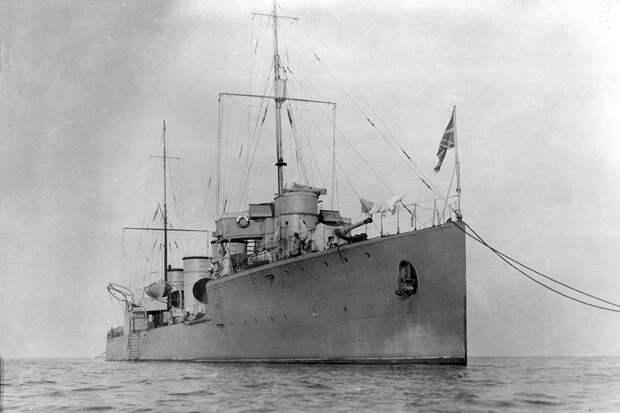 """Как эсминец """"Новик"""" установил мировой рекорд скорости в 1913 году"""