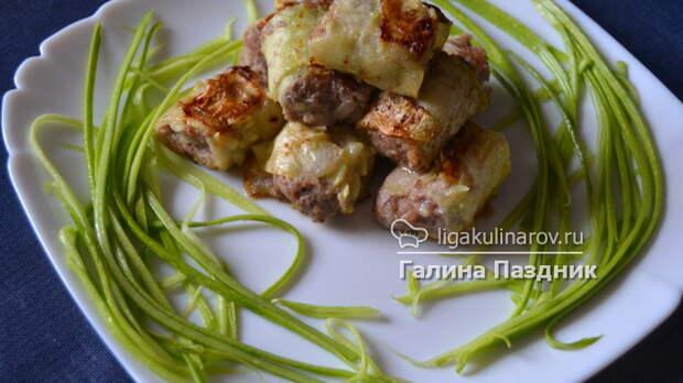 кабачки с мясом рецепт