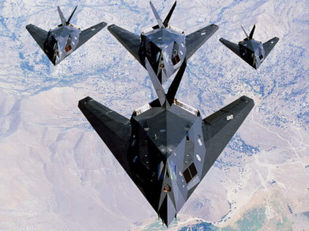 Идеальная мишень F 117: как гордость Америки пустили по ветру F-117, стелс, ввс сша, длиннопост