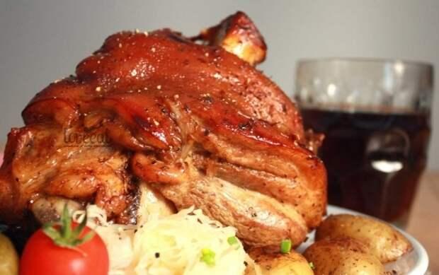 Рецепты запекания свиной рульки