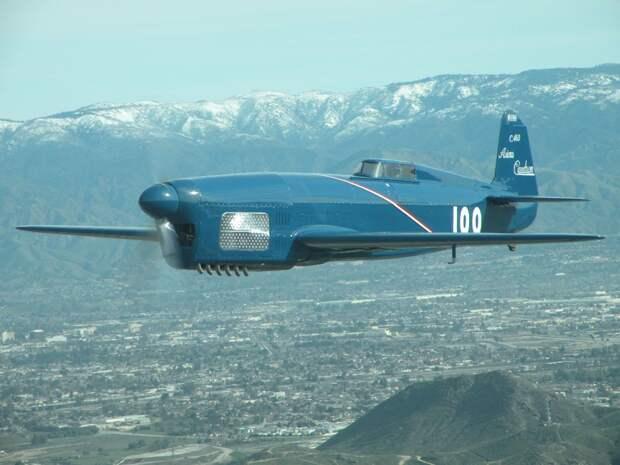 реплика гоночного и рекордного самолета Caudron C-460;