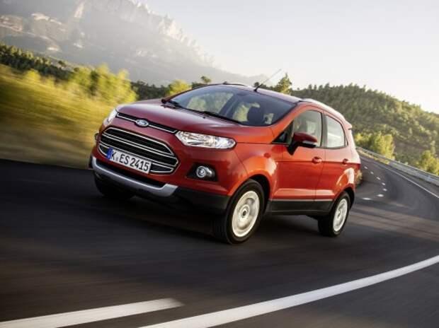 Ford Sollers начал выпуск EcoSport по полному производственному циклу