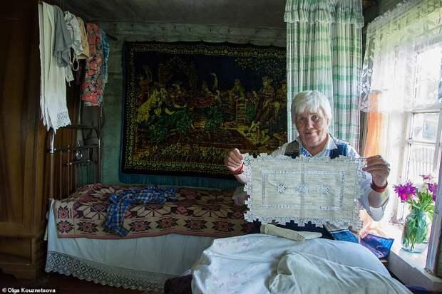 Как проводит Рождество и Новый год единственная жительница глухой российской деревни