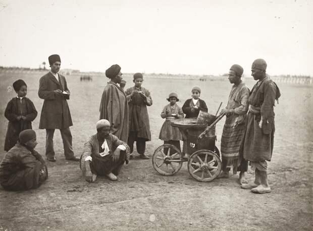 Торговец мороженым. Тегеран