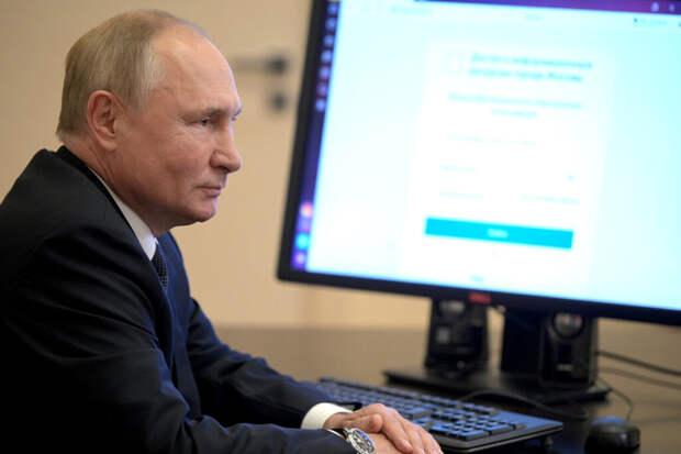 Стало известно, каким браузером пользуется Путин