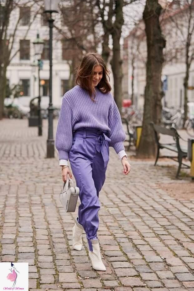Отличие монохрома от тотал лука: модные образы в стильных цветах весны 2021