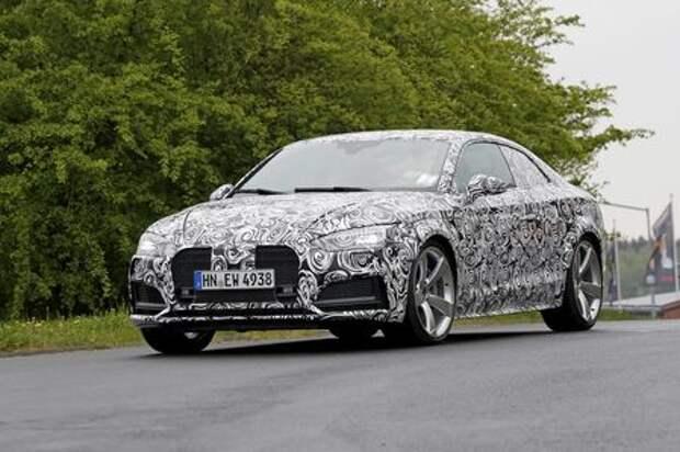 Audi RS 5 «задует» атмосферное пламя