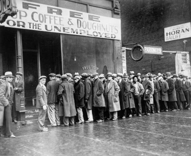 Великая депрессия в США – как все было