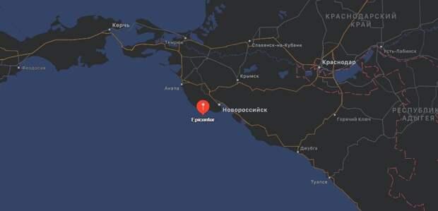 Между Анапой и Новороссийском произошло землетрясение