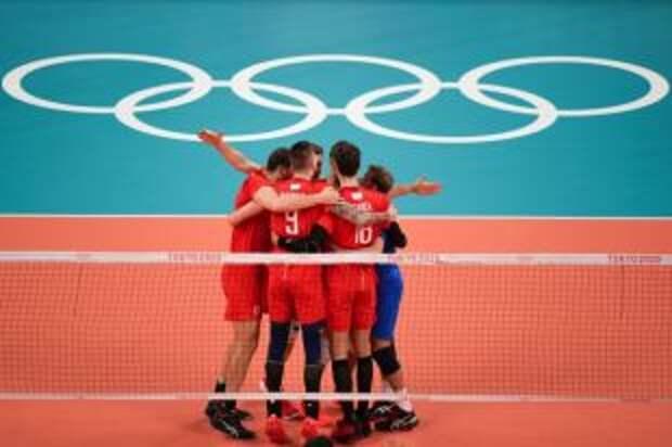 Россияне в полуфинале олимпийского турнира по волейболу сыграют с Бразилией