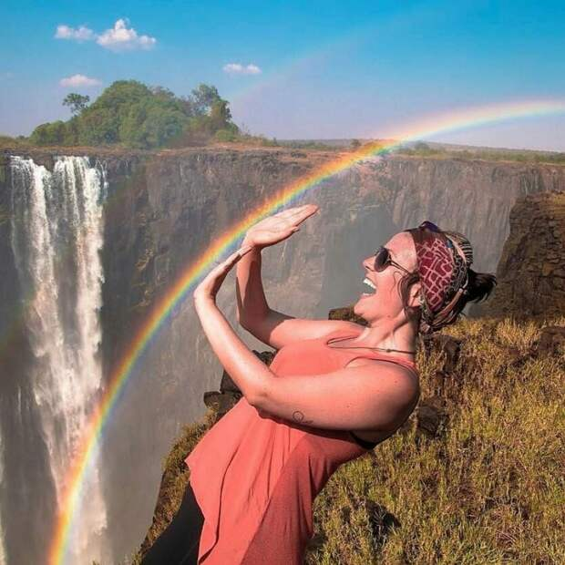 Как сфотографироваться с радугой