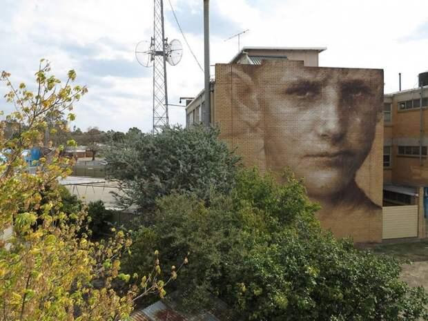 Потрясающий стрит-арт на улицах Киева