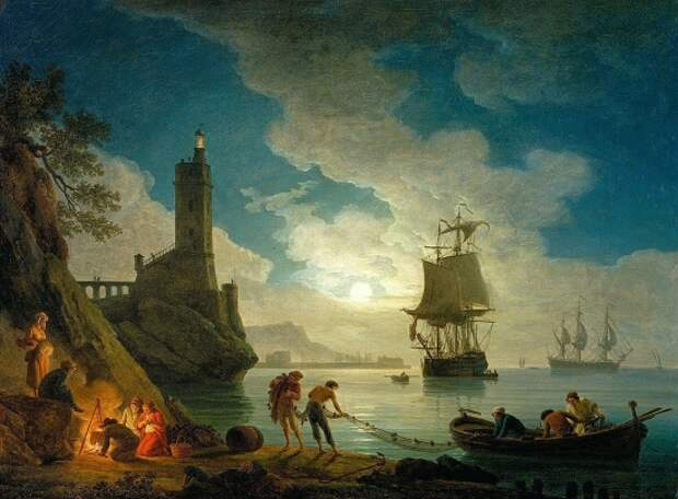 Художник Claude Joseph Vernet (1714 – 1789). Мастер морского пейзажа