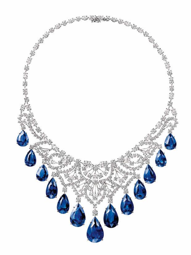 Harry Winston's gorgeous sapphire and diamond c