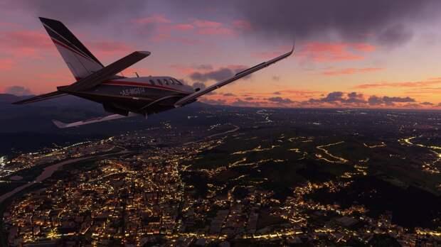 Мировое обновление для Microsoft Flight Simulator поразило своей красотой
