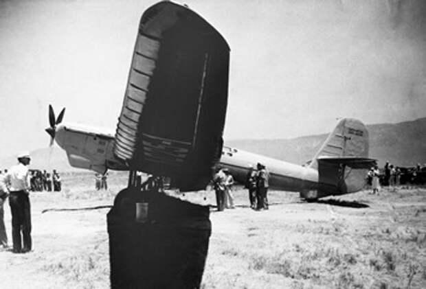 АНТ-25 после приземления в США © РИА Новости, А. Мизруха
