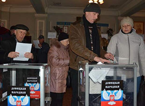 Глава ЦИК ДНР: Донбасс больше не часть Украины