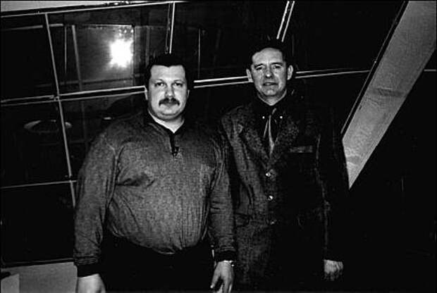 Владимир Иванович Миркин с пациентом, 1990–е годы, Москва