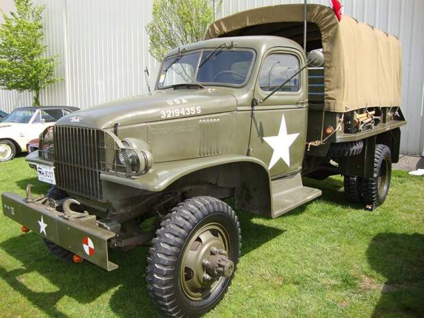 Еще автомобили Chevrolet G506, GMC CCKW, US6, вов, студебекер