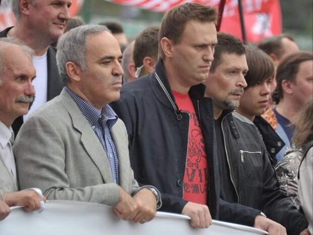 Казахская оппозиция сдала Навального, Яшина, Удальцова и Каспарова