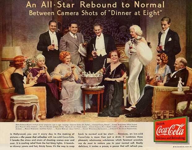 История Coca-Cola в плакатах