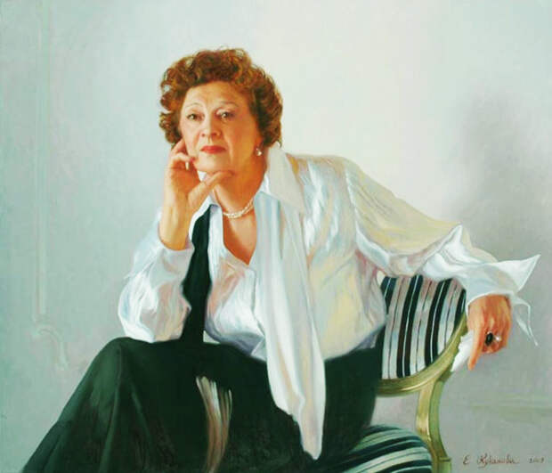 Портрет Алины Покровской, художник Елена Куканова. / Фото: www.nevsepic.com.ua