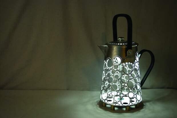 Gilles Eichenbaum - кружевные чайники
