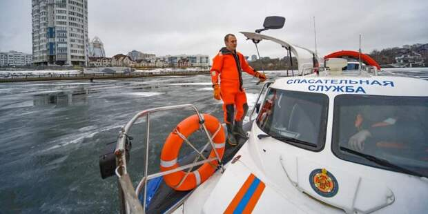 Собянин рассказал о поисково-спасательной службе на водных объектах. Фото: Е. Самарин mos.ru