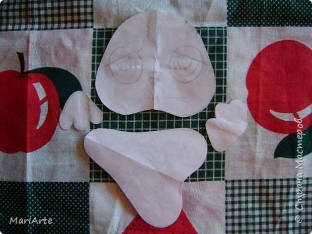 Игрушка Мастер-класс Шитьё Ароматный совенок- М К Клей Кофе Краска Ткань фото 2