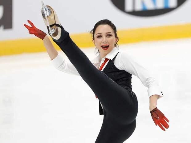 Елизавета Туктамышева стала победительницей этапа Гран-при в Москве