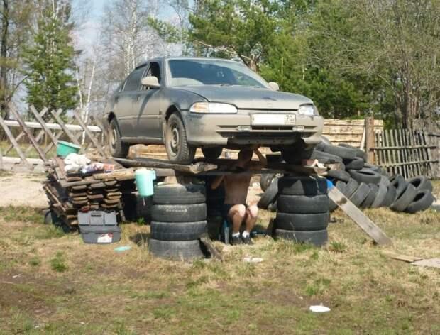 Что можно смастерить из старых шин