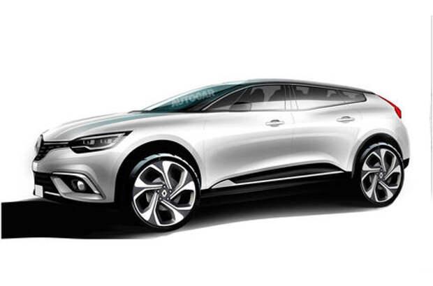 Кросс-купе высокого стиля: Renault прислушивается к тенденциям