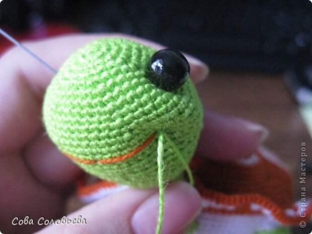 Игрушка Мастер-класс Вязание крючком изготовление Черепашки Пряжа фото 28