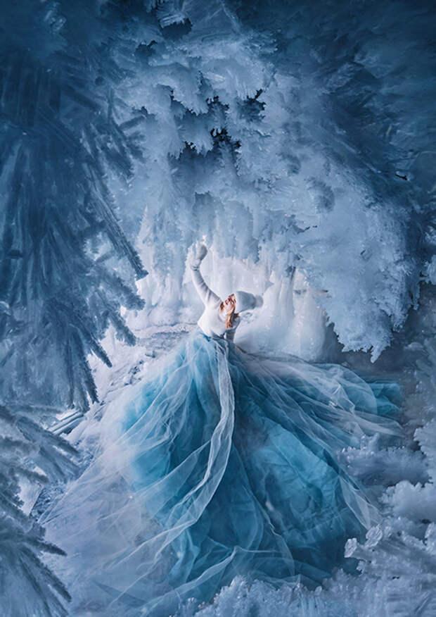 Зимняя сказка озера Байкал.