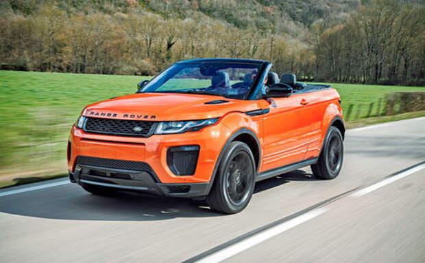 Range Rover Evoque без крыши: всем ветрам назло