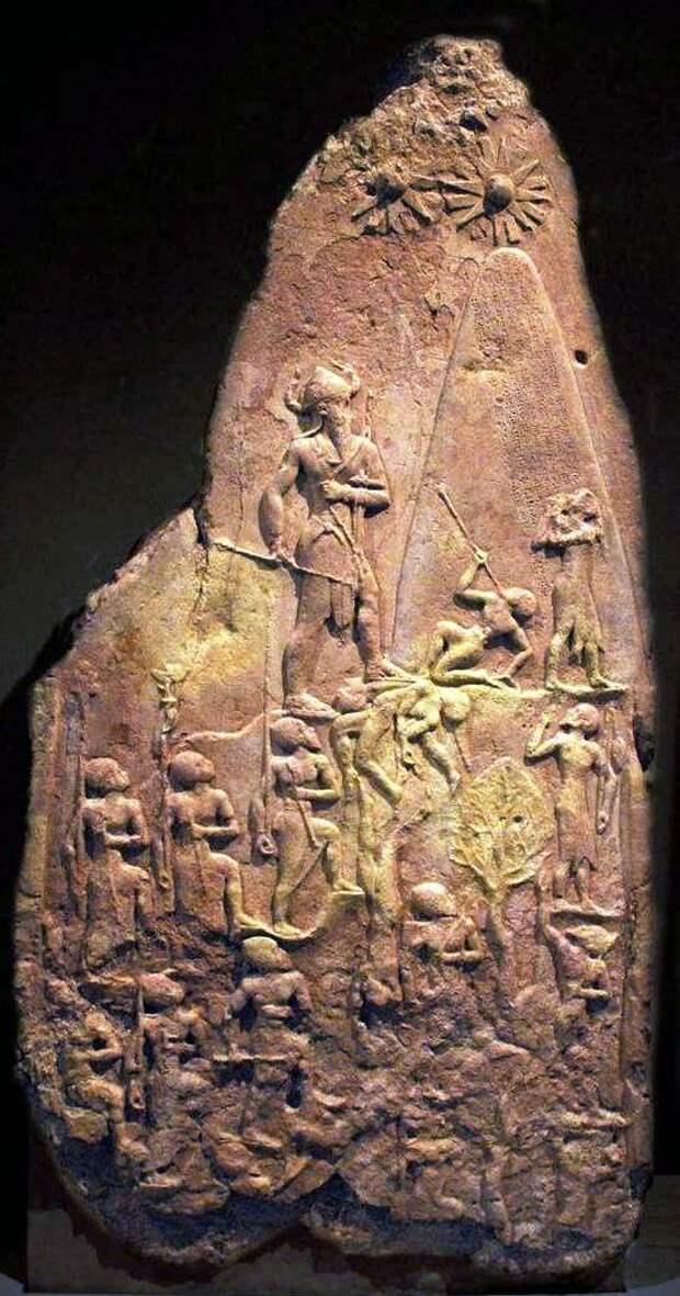 Два солнца в небе. Стела Нарамсина. 2250 год до н.э.