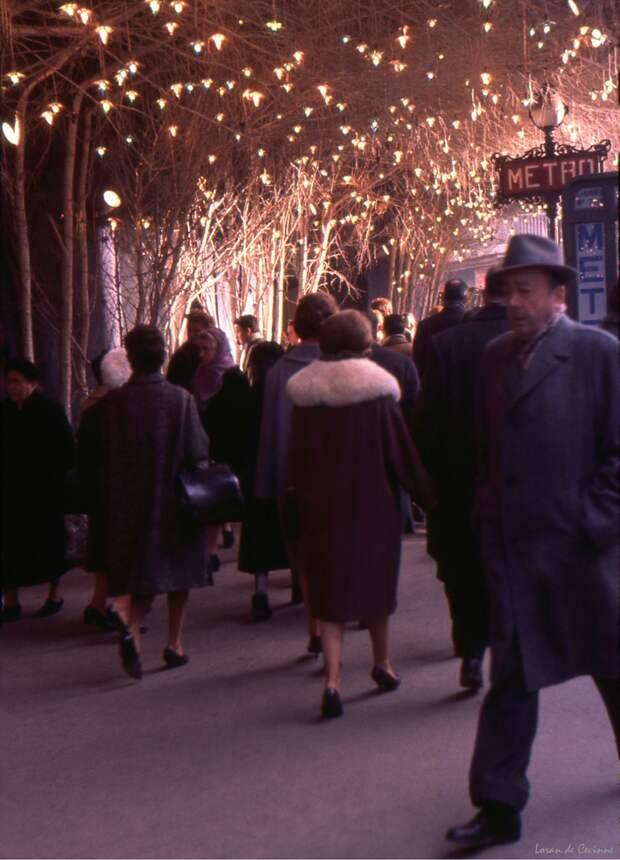 Париж 1960-х в цвете